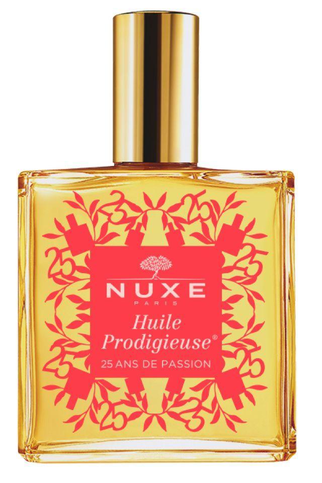 ニュクスの美容オイル誕生25周年記念ボトルのコーラルが登場