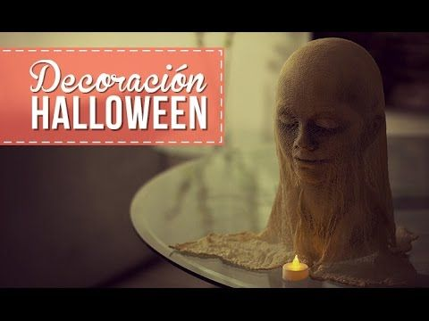 Crea la decoración para halloween tú misma.