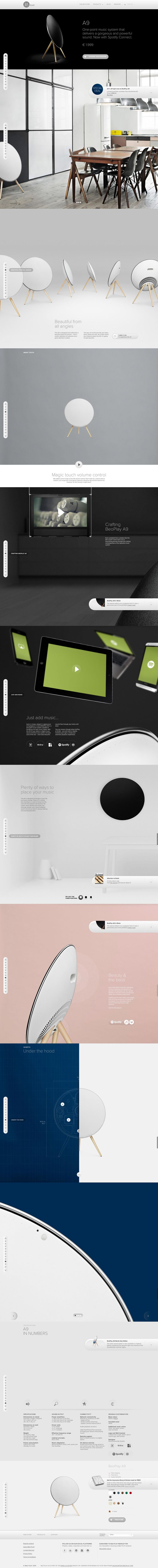 B&O Play Desktop Product Page - http://www.cartrepublic.com/gallery/2014/09/bo-play-desktop-product-page/