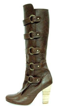 Sadewa boots by Niluh Djelantik