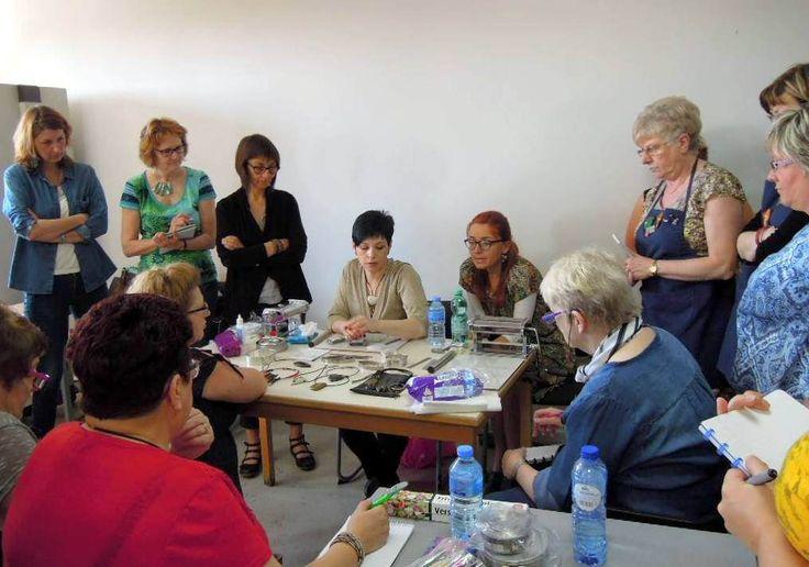 Workshop in Belgium. may 2016год