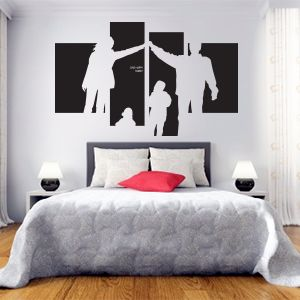 One Big Family, Wallsticker