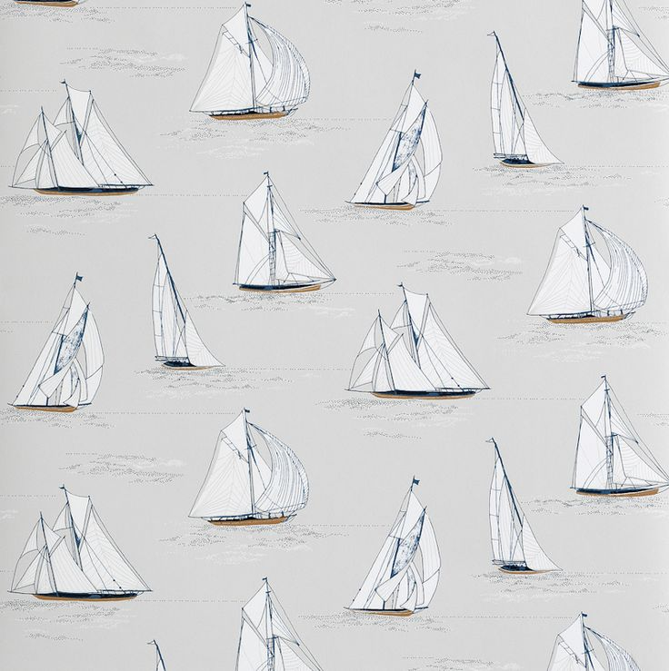 Our 10 favourite wallpapers to remind you of the seaside, wherever you are in the world...Get inspired and sail away with these brands...