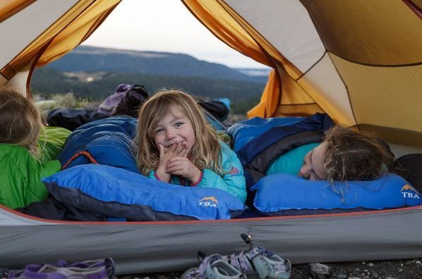 """""""They are light and compact, so it wasn't a big deal to chuck in our packs. They are really comfy and I love that they have anti-skid dots on the bottom so it doesn't slither off in the night. There are a couple of different ways to use them which you can check out on @tinybigadventure  channel."""""""