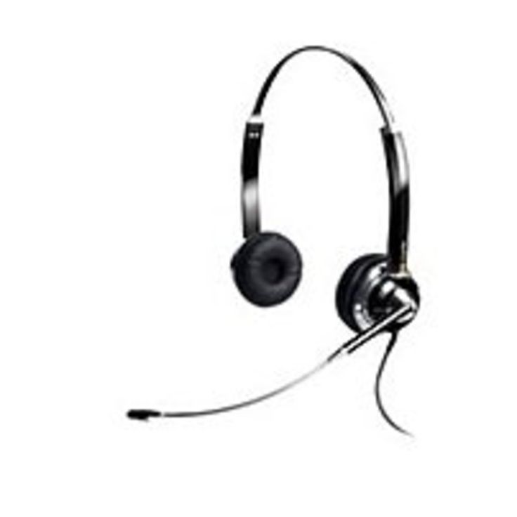ClearOne CHAT 910-000-30D Noise Cancelling Headset - Wired - Binaural - Over-the-head - USB