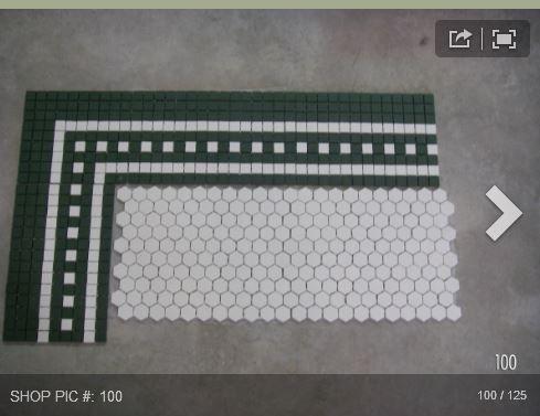 die 17 besten bilder zu hexagon tile bathroom floor auf pinterest ... - Weie Fliesen Bordre