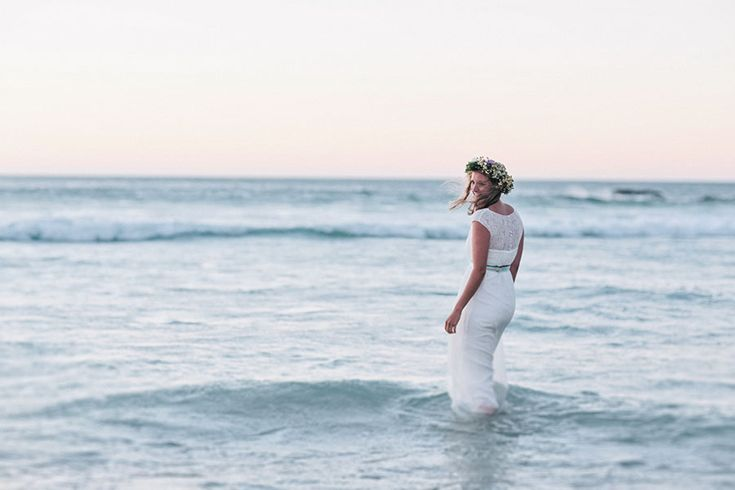 Beach wedding in Cape Town #afterweddingshooting #capetown
