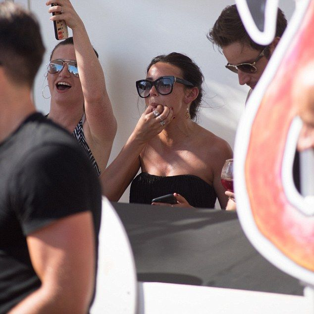 Bikini-clad Michelle Keegan parties with  Mark Wright | Daily Mail Online