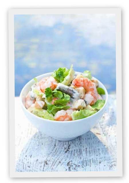 La salade bretonne est une recette bretonne idéale pour vos repas à emporter ou pour un repas frais pour la saison estivale.