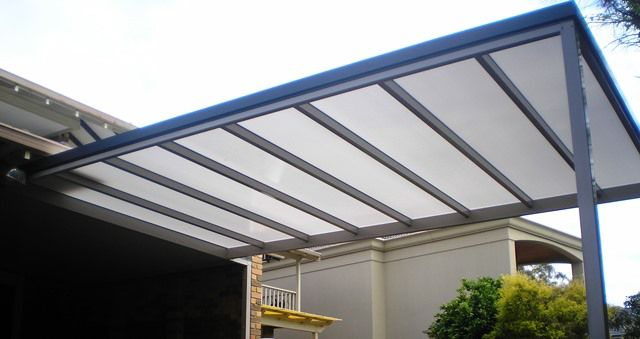 Twinwall polycarbonate roofing for patio?
