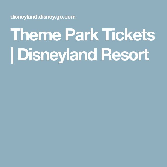 Disneyland florida hotel and park ticket deals