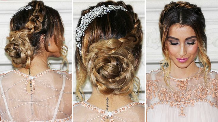 Beautiful Bridal Hairstyle For Long Hair: 84 Best Images About Bridal Hairstyles On Pinterest