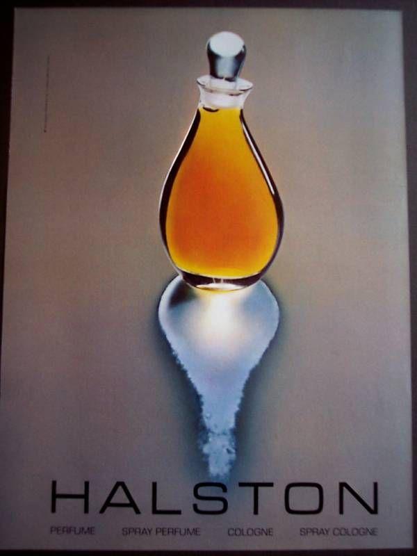 1981 Halston Perfume original vintage fragrance ad   eBay