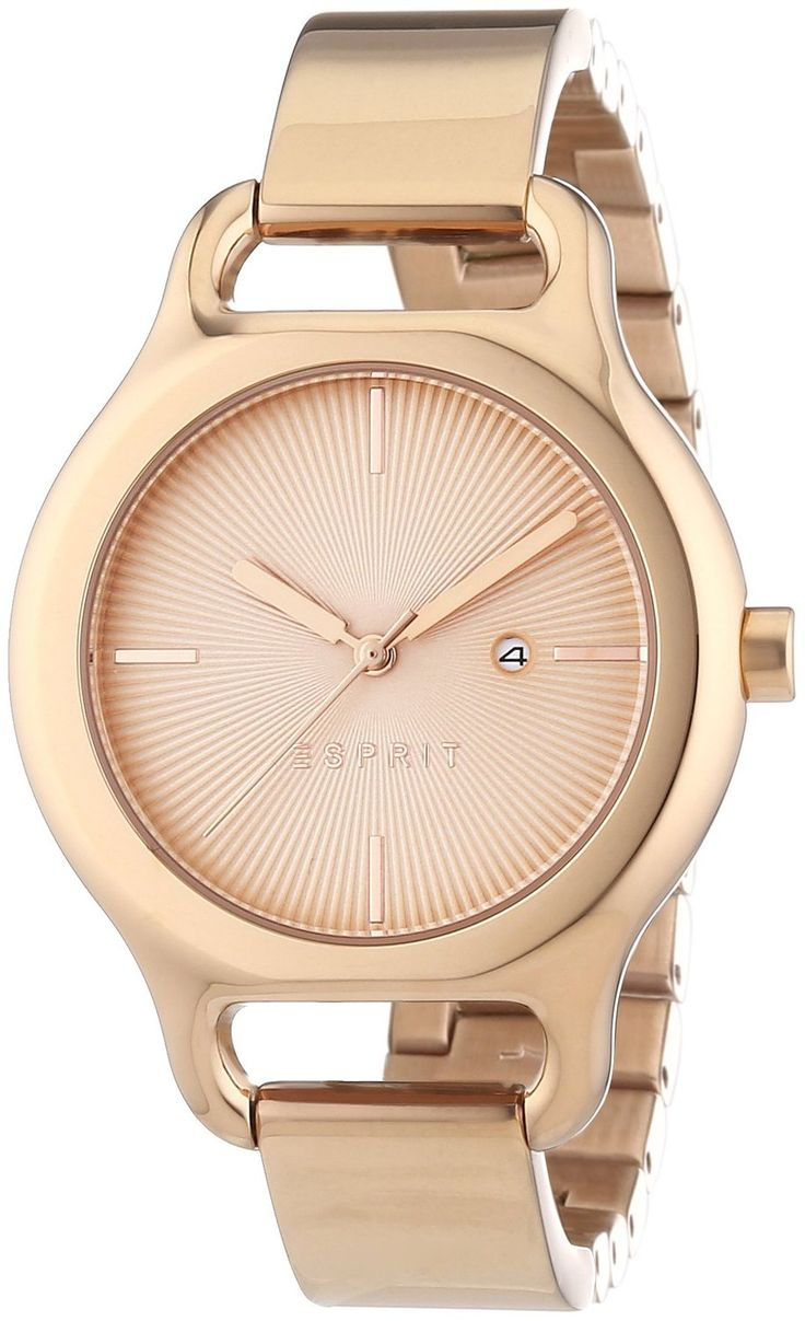 Buy Esprit Analog Pink Dial Women's Watch - ES107932003 Online at Low Prices in India - Amazon.in