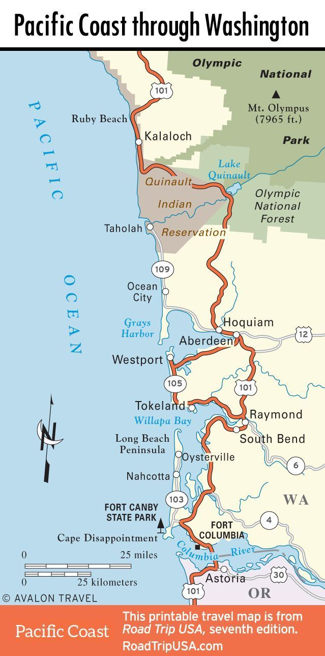 West Coast Trail Map Coast Trail Westkuste Trail Karte Carte