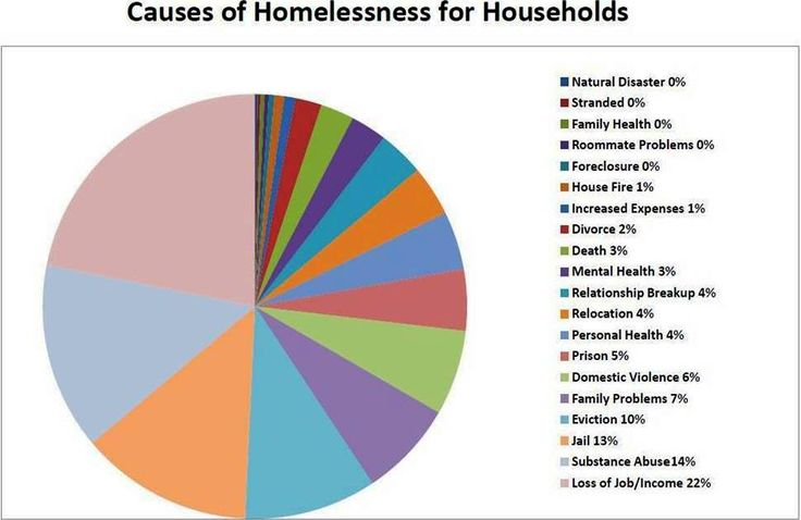 There are many factors that contribute to an individual or family becoming homeless. See the list below to see a few.   While it can be difficult to identify a singular cause of homelessness…