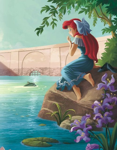 Ariel found herself sleepwalking towards the water most nights, waking up on a rock in a soaked nightgown.