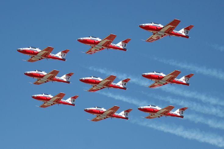 Royal Canadian Air Force- Snowbirds