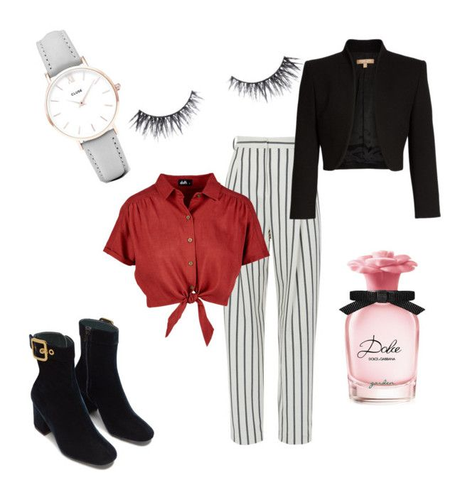 """""""Untitled"""" by th3futur3isf3mal3 on Polyvore featuring TIBI, CLUSE, Michael Kors and Dolce&Gabbana"""