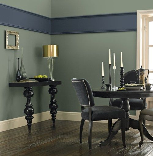 24 best crown images on pinterest crown crowns and wall for Olive green dining room ideas