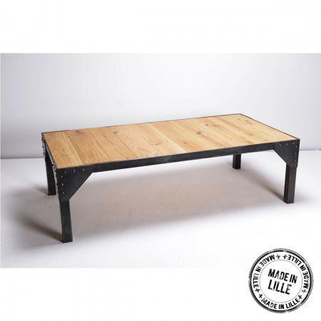 87 best images about meubles bois et acier on pinterest. Black Bedroom Furniture Sets. Home Design Ideas