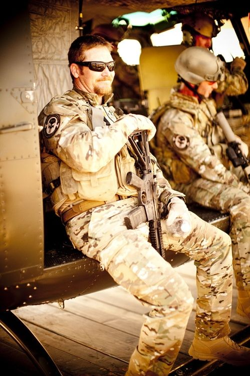 Chris Kyle, NAVY Seal and American hero. They don't make them like him any more. Born in Odessa, Texas in 1974 and died February 2, 2013. Rest in peace and thank you for your service.