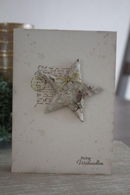 Meine Bastelwelt: Die letzten Weihnachtskarten...
