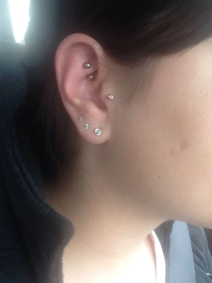 1000+ images about Piercing on Pinterest   Cartilage ...  Rook Piercing Stud