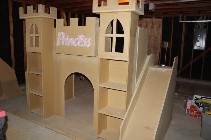 Kids Castle Bed Plans Woodworking Projects Amp Plans