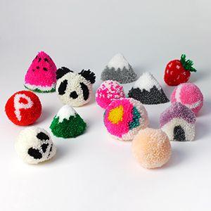 Pompons Fazer Flor com hum DIY Fabricante Pom-pom - Sr. Printables Blog