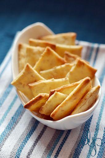 Dolcepassione: Cracker di pasta madre