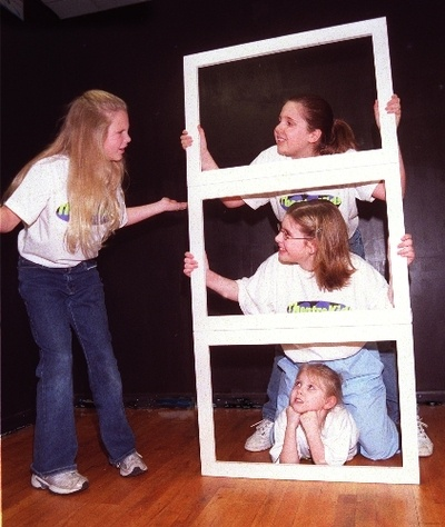 Taylor Swift, 11 in 2001, in a rehearsal for a Berks Youth Theatre Academy production.