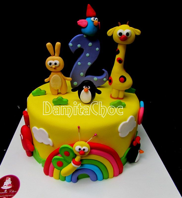 #cakefondant #babytv #boys #gumpaste #girls