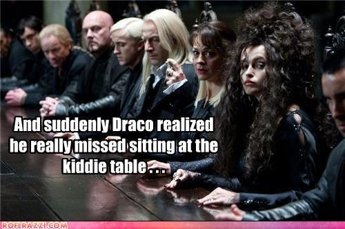 Being a Death Eater was not what Draco expected