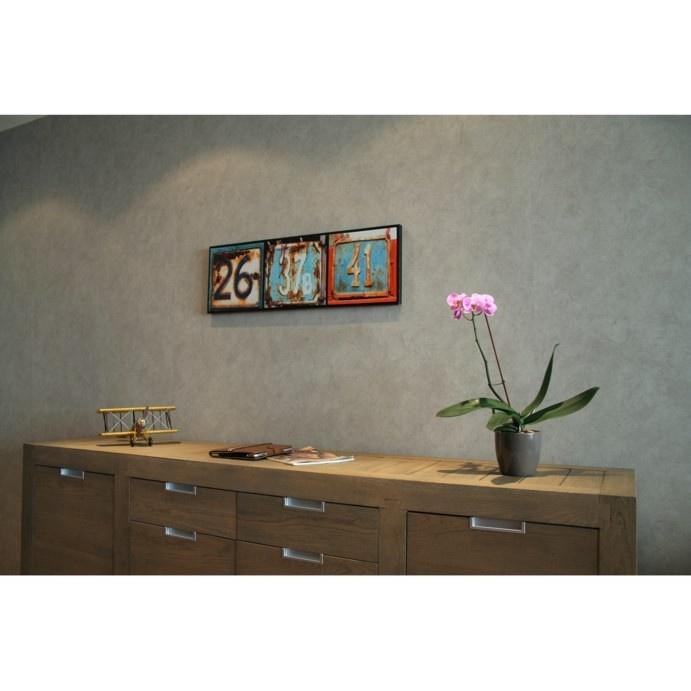 Canvas huisnummers - Stijlvolle & Betaalbare Wanddecoratie | wanddecoratiestore.be