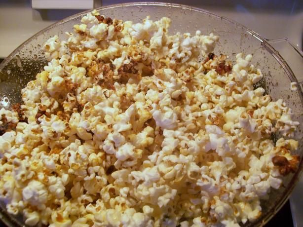 Stir Crazy Kettle Corn from Food.com: I LOVE kettle corn, and after much experimentation, I have created the perfect recipe for home-made kettle corn by using my favorite popcorn-making device--the Stir Crazy Popcorn Popper.
