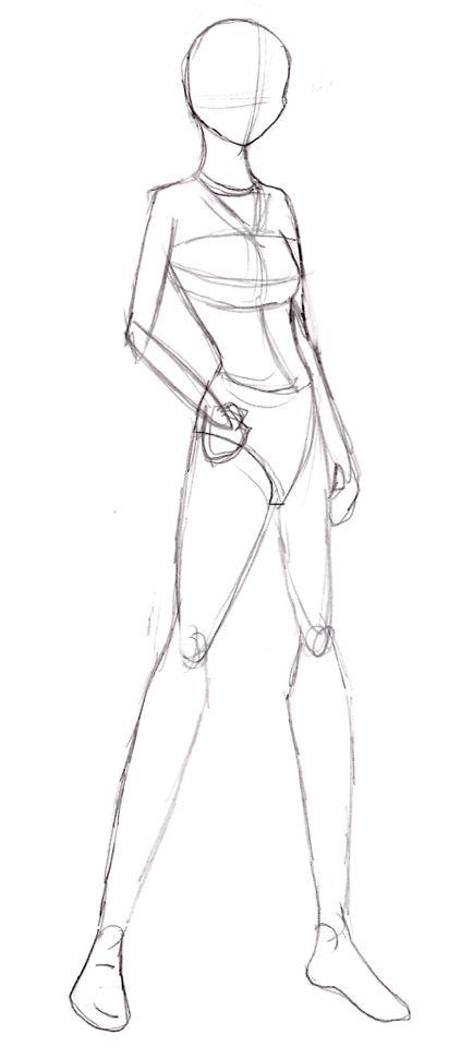 Full body sketch