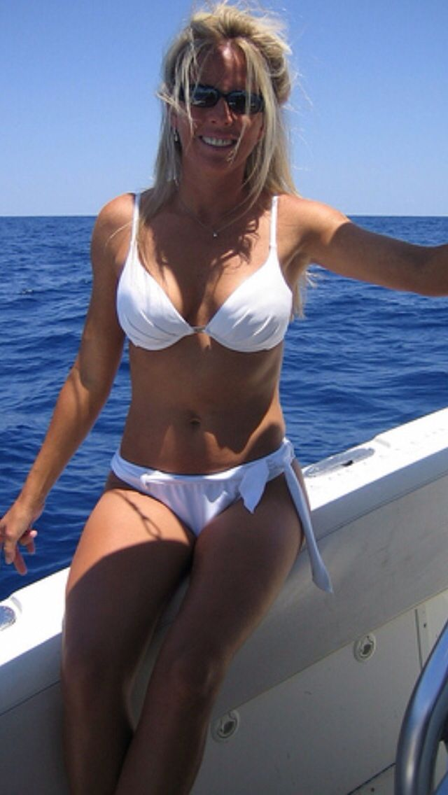 Image result for mature women on a boat