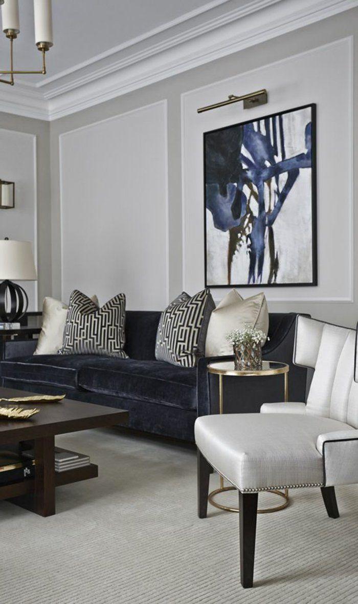 Les 25 meilleures id es de la cat gorie murs gris p le sur pinterest murs g - Comment peindre son salon ...