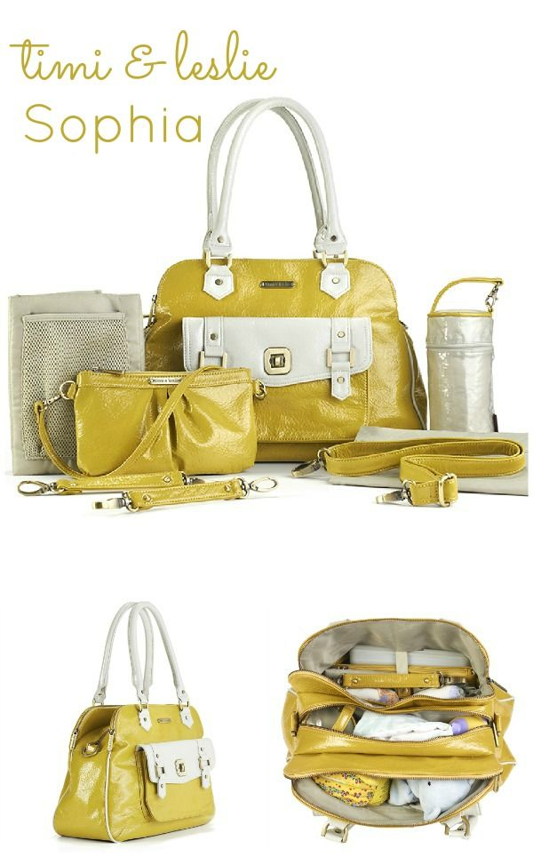 Timi & Leslie Sophia diaper bag! I need one like this when I'm a mommy! Cute AND functional!!