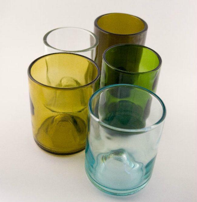 22 ideas para convertir tus botellas vacías en cosas útiles y decorativas