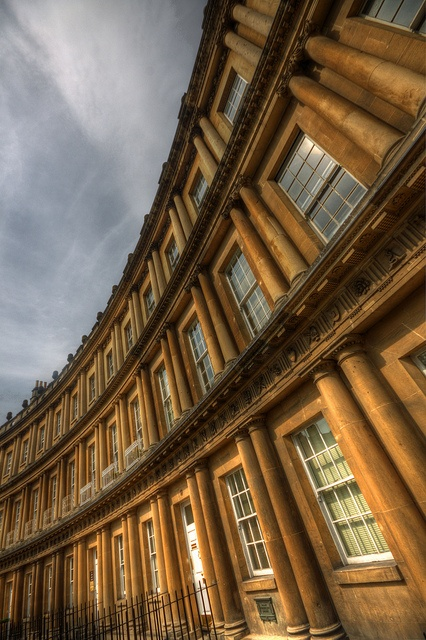 The circus, Bath, UK Been here myself and it's visually stunning.