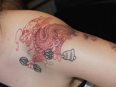 Beautiful Chinese tattoos, chinese letter tattoos