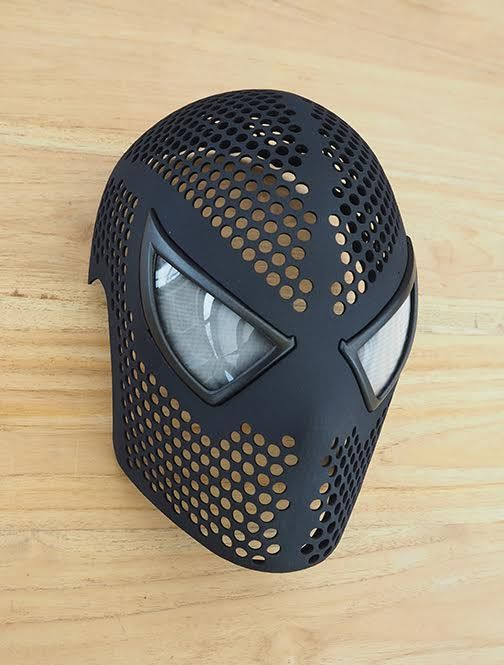 nyone Can Be Spider-Man with This Incredible 3D Printed Spidey Mask