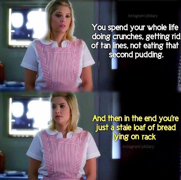 Pretty Little Liars, all too true Hanna