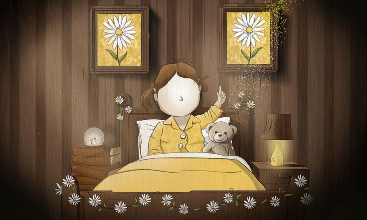 From a quick bedtime story for his son, Galvin Scott Davis has crafted Daisy Chain, a Burtonesque animation with an Oscar-winning narrator