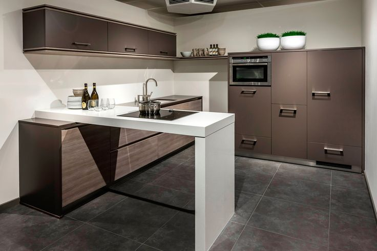 ... aanrechtblad ultramoderne keuken hier kastenwand 165, keuken: 295xd188