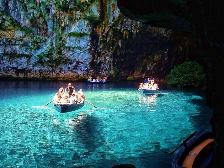 VISIT GREECE| Melissani #Cave, #Kefalonia, #Ionian islands