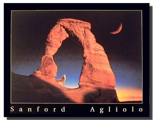 This nature's inspired landscape art print wall poster will add a touch of beautiful charm to any room. This stunning wall art poster will be the focal point of your room. This poster captures the image of a delicate arch, Utah national park scenery which is sure to attract lot of attention. Goes with all decor style. Hurry up and grab this wonderful wall poster for its durable quality and high degree of color accuracy.