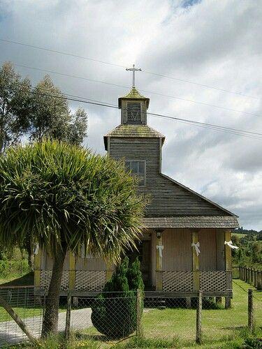 Iglesia Tey.Archipielago Chiloé